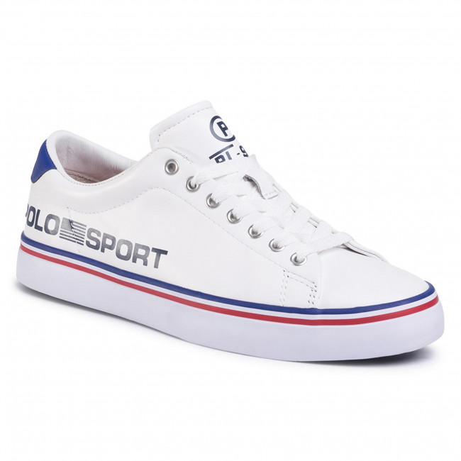 Sneakersy POLO RALPH LAUREN - Longwood 816784972003 White