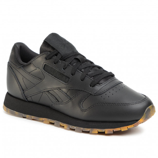 Boty Reebok - Cl Leather Mu EH2397  Black/Black/Black