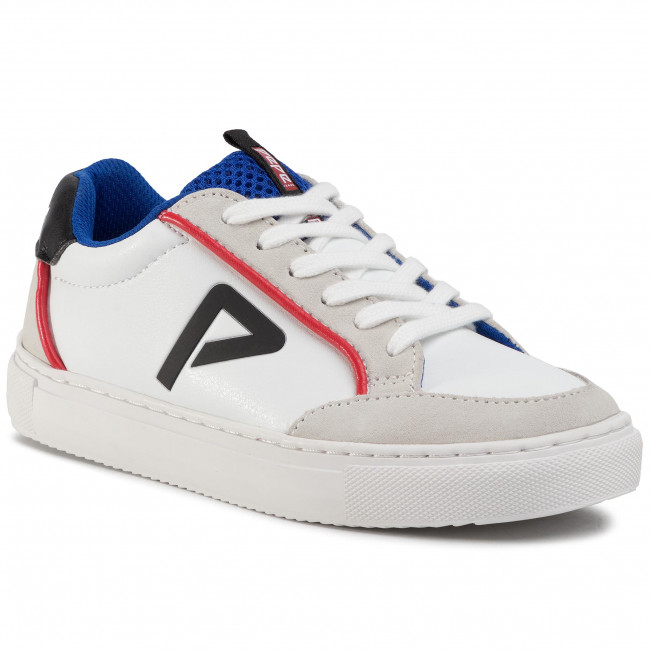 Sneakersy PEPE JEANS - Adams P Junio PBS30413 White 800