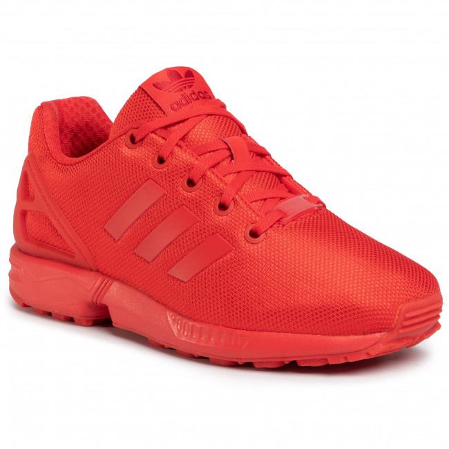 Boty adidas - Zx Flux J EG3823 Red/Red/Red