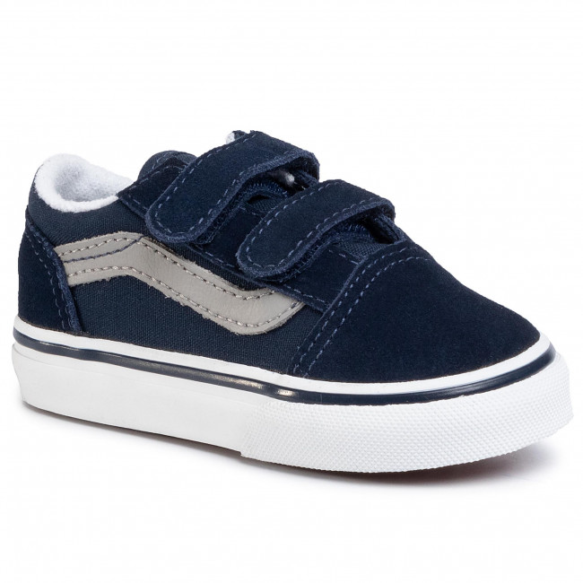 Sneakersy VANS - Old Skool V VN0A38JNWKN1 Dress Blue/Drizzle