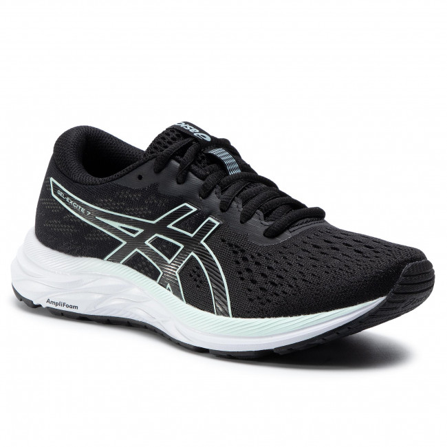 Boty ASICS - Gel-Excite 7 1012A562 Black/Bio Mint