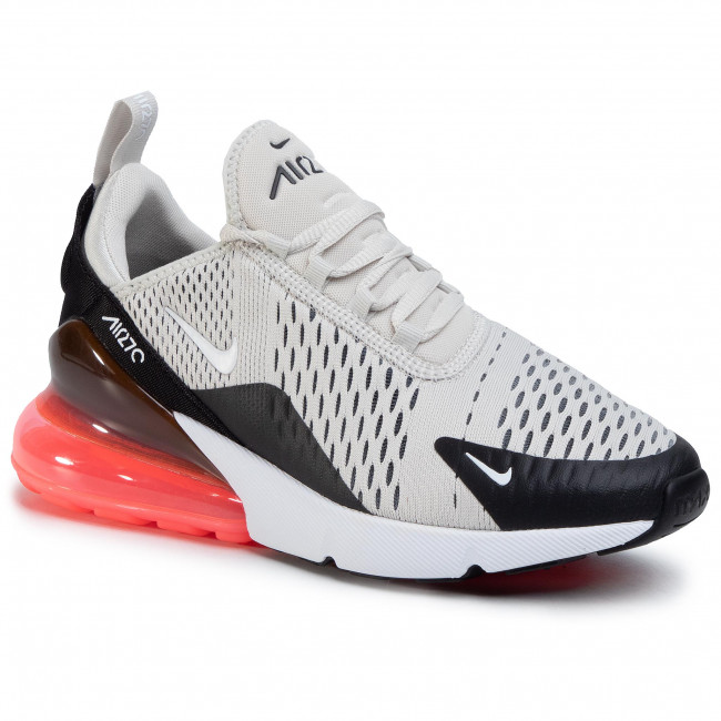 Boty NIKE - Air Max 270 AH8050 003 Black/Light Bone/Hot Punch
