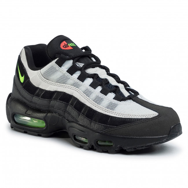 Boty NIKE - Air Max 95 Essential AT9865 004 Black/Electric Green