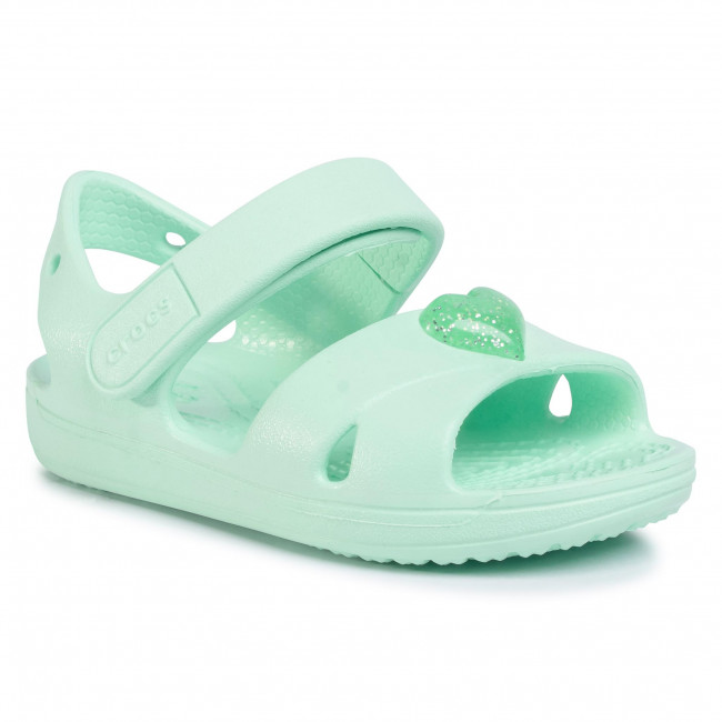 Sandály CROCS - Classic Cross Strap Sandal Ps 206245 Neo Mint
