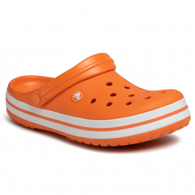 Nazouváky CROCS - Crocsband 11016 Orange/White