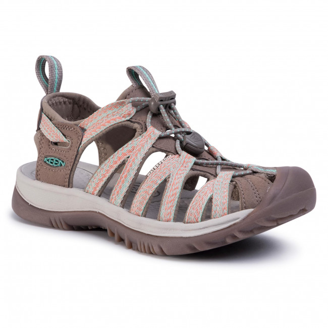 Sandály KEEN - Whisper 1022810 Taupe/Coral