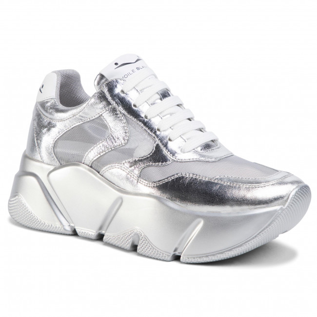 Sneakersy VOILE BLANCHE - Monster Mesh 0012013592.05.0Q04 Argento
