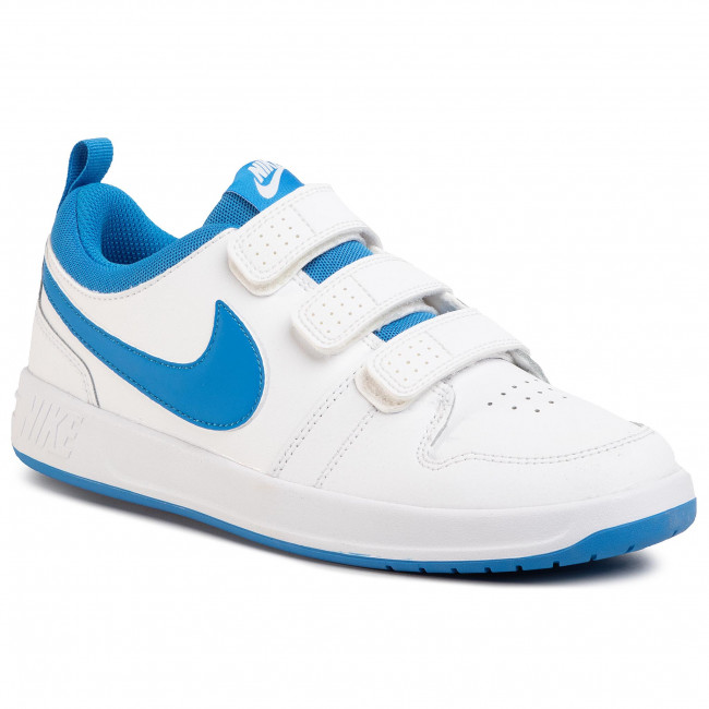 Boty NIKE - Pico 5 (GS) CJ7199 103 White/Lt Photo Blue