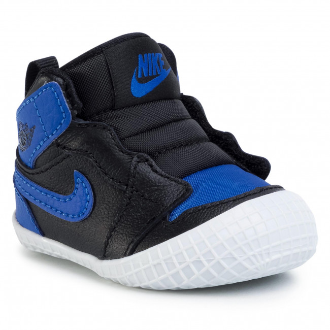 Boty NIKE - Jordan 1 Vrib Bootie AT3745 007 Black/Varisty Royal/White