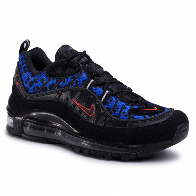 Boty NIKE - Air Max 98 Prm BV1978 001  Black/Habanero Red/Racer Blue