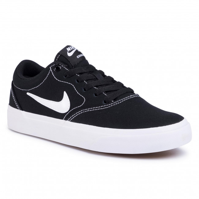 Boty NIKE - Charge Cnvs (GS) CQ0260 001 Black/White