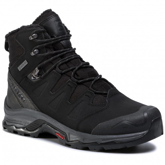 Trekingová obuv SALOMON - Quest Winter Gtx GORE-TEX 411103 27 V0 Black/Ebony/Black