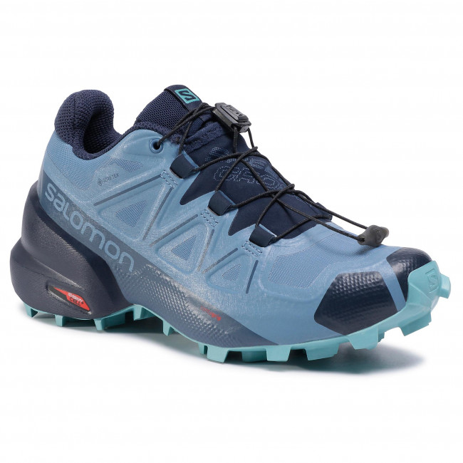 Boty SALOMON - Speedcross 5 Gtx W GORE-TEX 411175 20 G0 Copen Blue/Navy Blazer/Meadowbrook