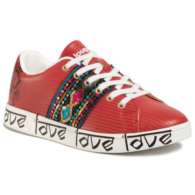 Sneakersy DESIGUAL - Cosmic Exotic Indian 20SSKP26 3061