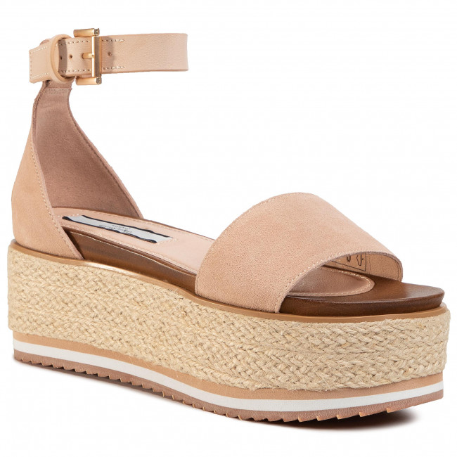 Espadrilky PEPE JEANS - Wick Premium PLS90439 Washed Rose 313