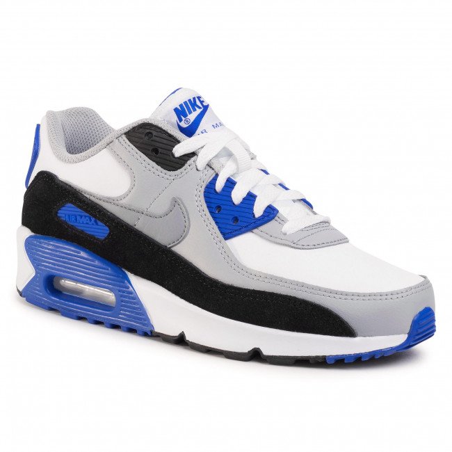 Boty NIKE - Air Max 90 Ltr (Gs) CD6864 103 White/Particle Grey