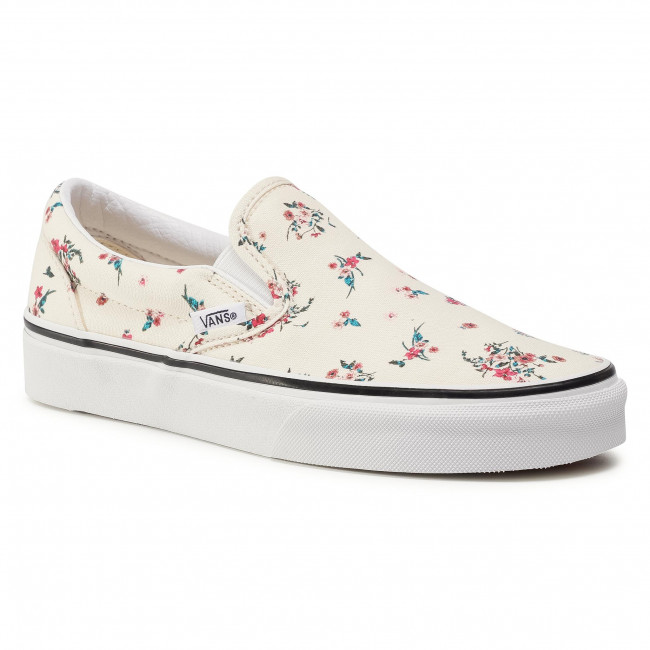 Tenisky VANS - Classic Slip-On VN0A4U3816Z1 (Ditsy Floral)Clswhttrwht