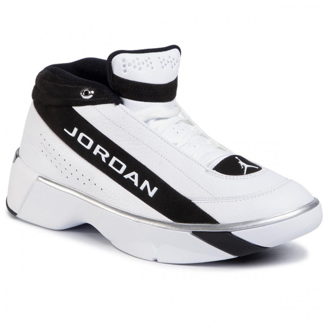 Boty NIKE - Jordan Team Showcase CD4150 100 White/White/Black