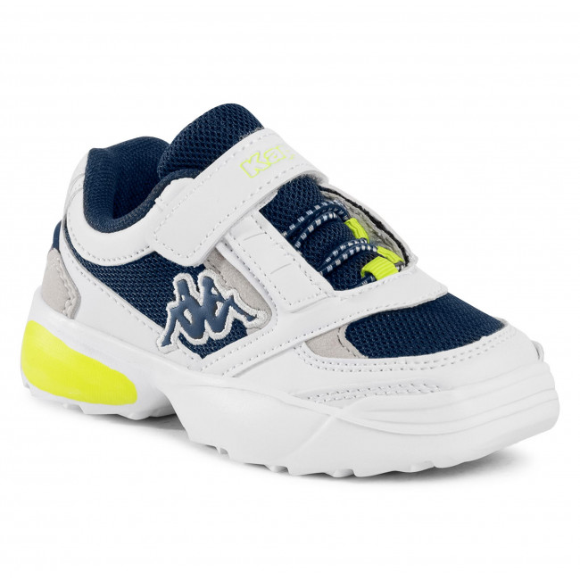 Sneakersy KAPPA - Krypton 260794K  White/Navy 1067