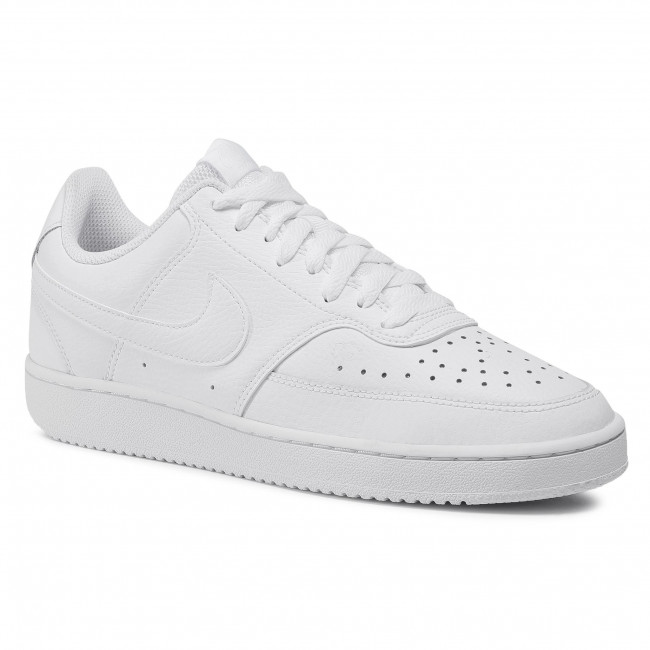 Boty NIKE - Court Vision Low CD5434 100  White/White/White
