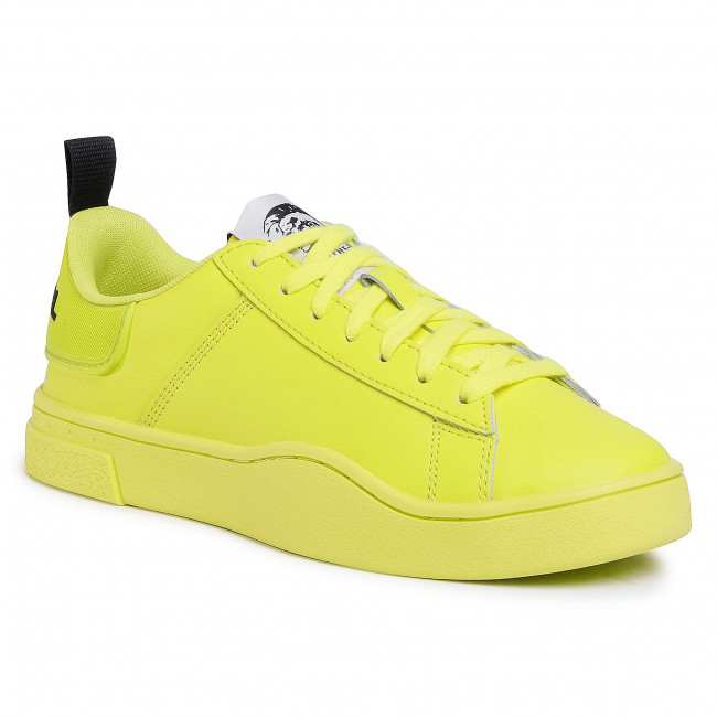 Sneakersy DIESEL - S-Clever Low Lace W Y02042 P3413 T3154  Yellow Fluo