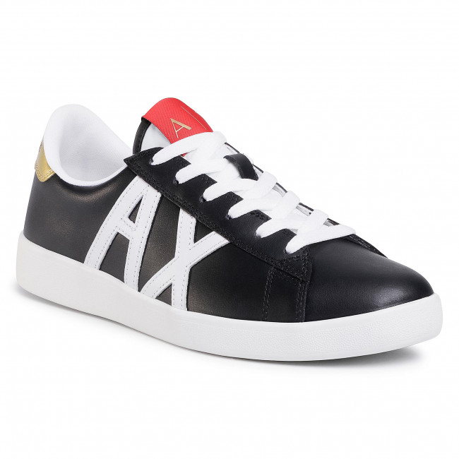 Sneakersy ARMANI EXCHANGE - XUX016 XCC71 00002 Black Germany