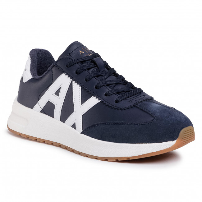 Sneakersy ARMANI EXCHANGE - XUX071 XV234 K487 Navy/Opt White