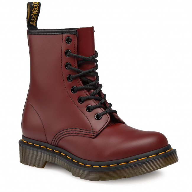 Glády DR. MARTENS - 1460 Smooth 11821600 Cherry Red
