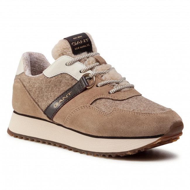 Sneakersy GANT - Bevinda 21533829 Mud Brown G467