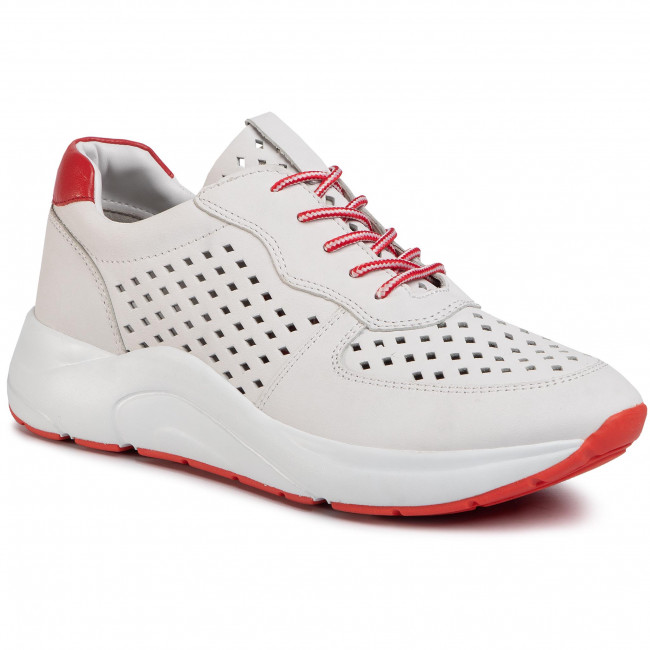 Sneakersy CAPRICE - 9-23500-24 White/Red 151