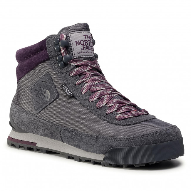 Trekingová obuv THE NORTH FACE -  Back-To-Berkeley Boot II NF00AIMFVG7 Zinc Grey/Vintage Violet