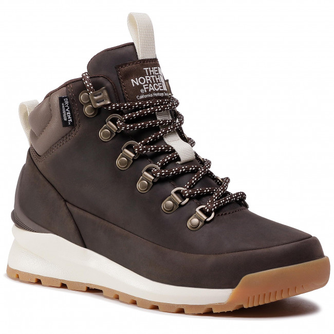 Trekingová obuv THE NORTH FACE - Back-To-Berkley Mid Wp NF0A4AZFMJ4 Demitasse Brown/ Bipartisan Brown