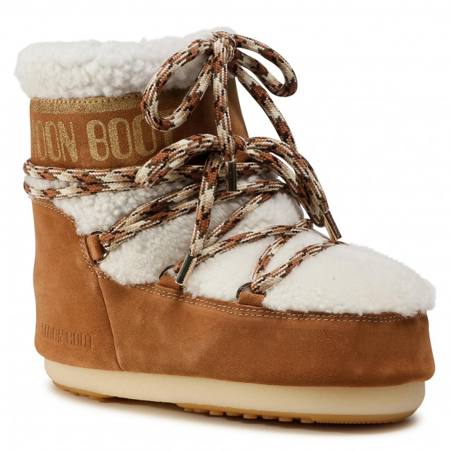 Sněhule MOON BOOT - Mars Shearling 14400900001 Whisky/Off White