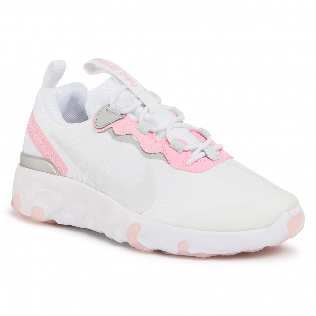 Boty NIKE - Renev Element 55 (PS) CK4082 102 White/Pure Platinum/Pink