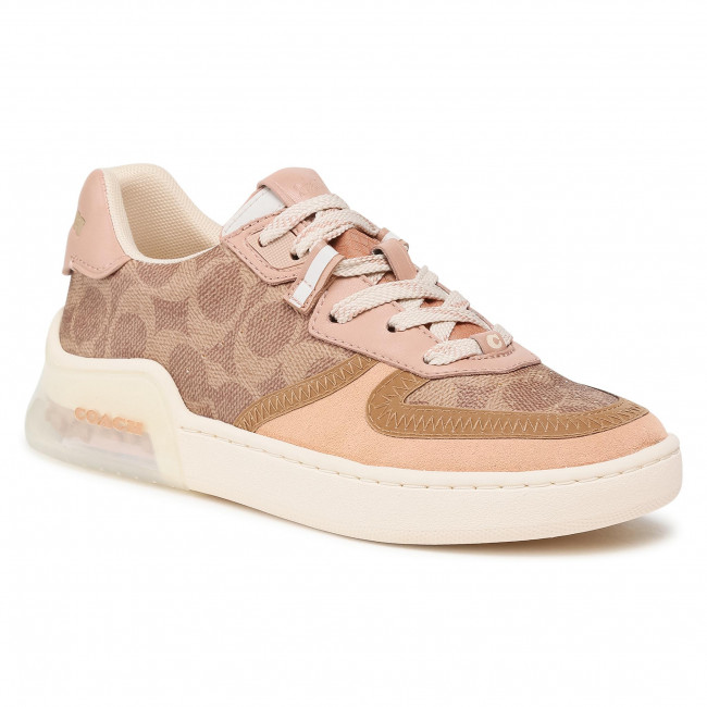 Sneakersy COACH - Citysole Sig Court G5043 10011275 Tan/Beechwood OY7