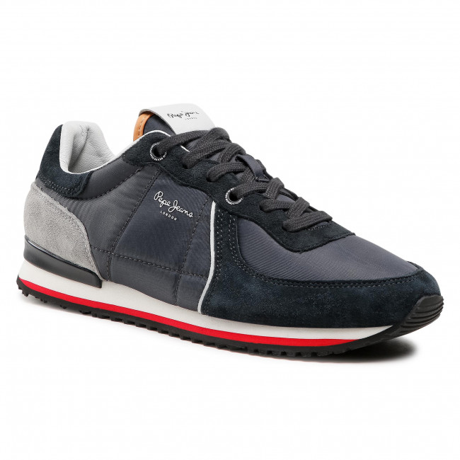 Sneakersy PEPE JEANS - Tinker City 21 PMS30728  Antracite 982