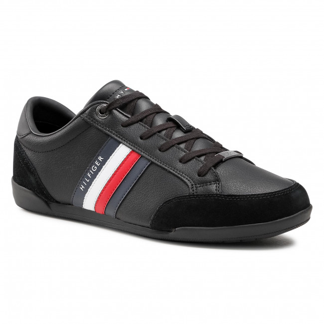 Sneakersy TOMMY HILFIGER - Corporate Material Mix Cupsole FM0FM03429 BDS