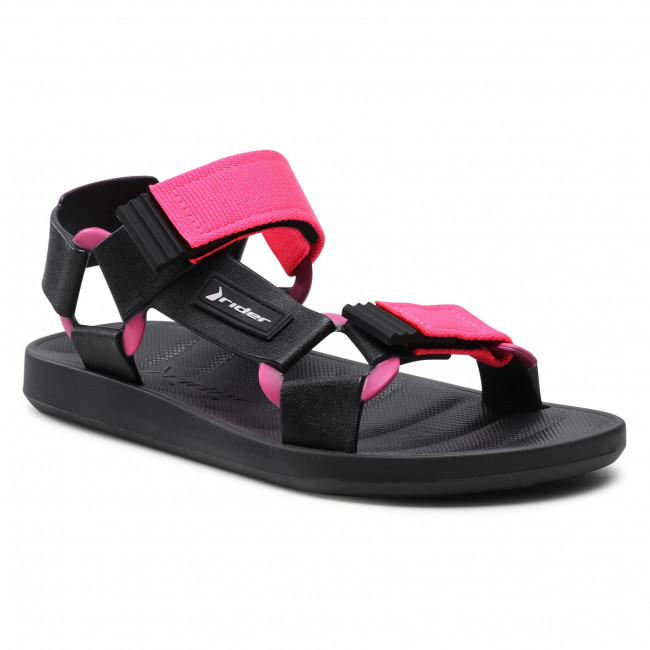 Sandály RIDER - Free Papete Ad 11567 Black/Pink 20753