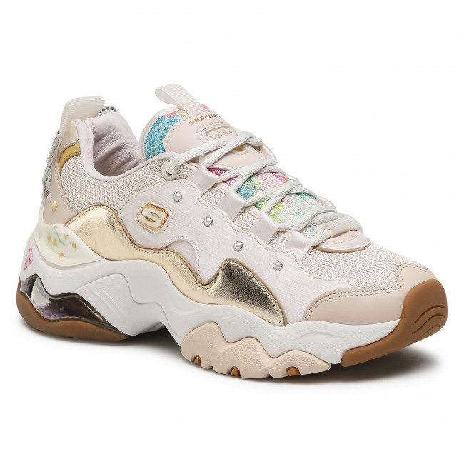 Sneakersy SKECHERS - Sparkling Lady 149244/NTGD Natural/Gold