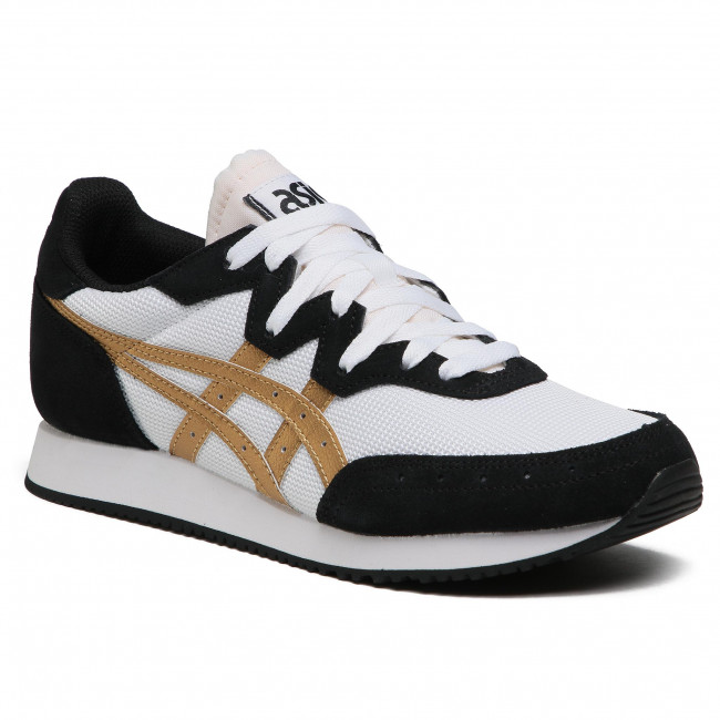 Sneakersy ASICS - Tarther Og 1201A167 White/Pure Gold 100
