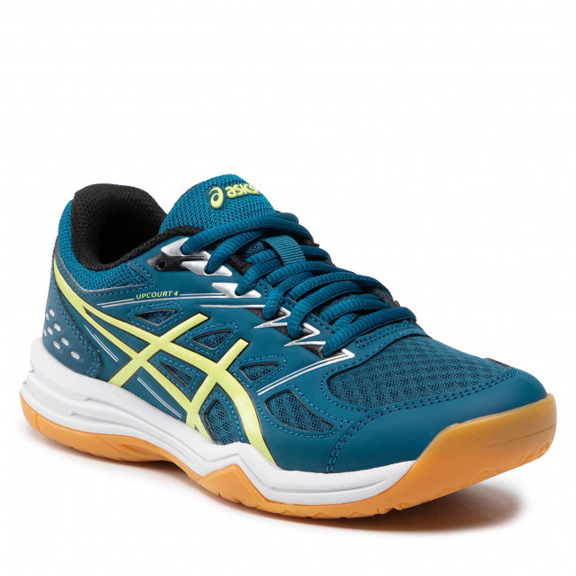 Boty ASICS - Upcourt 4 Gs 1074A027 Deep Seateal/Glow Yellow 404