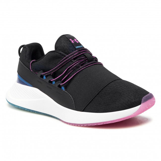 Boty UNDER ARMOUR - Ua W Charged Breathe Clr Sft 3023658-001 Blk
