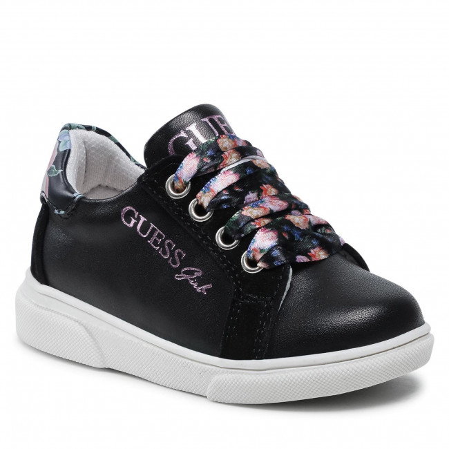 Sneakersy GUESS - FT7MIL LEA12 BLACK