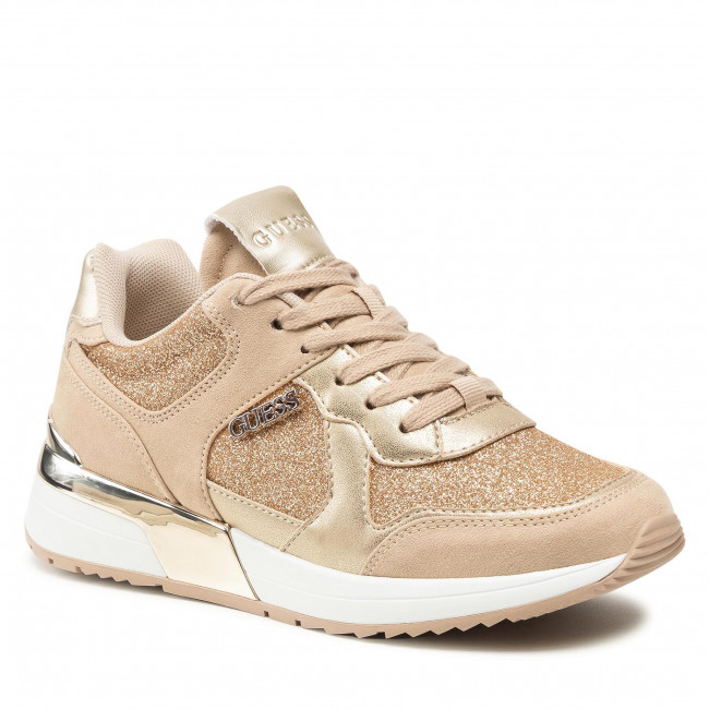 Sneakersy GUESS - Maybel FL7MYB FAM12  GOLD