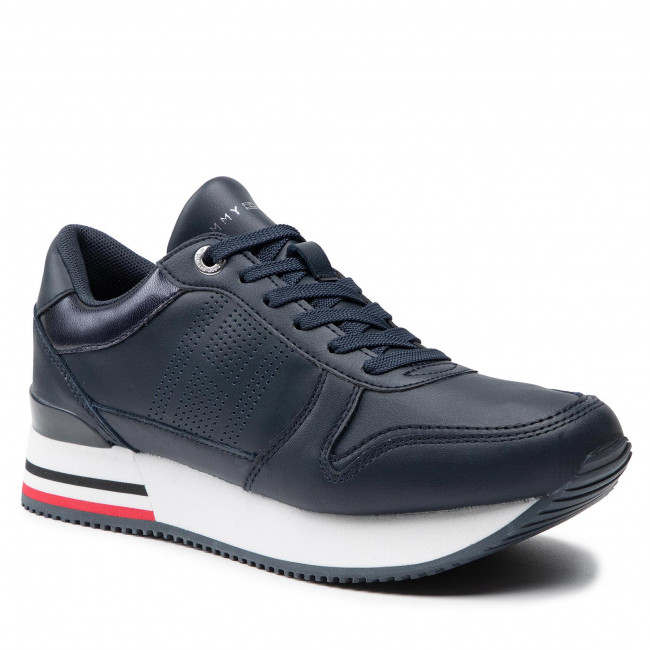 Sneakersy TOMMY HILFIGER - Corporate Active City Sneaker FW0FW05800 Desert Sky DW5