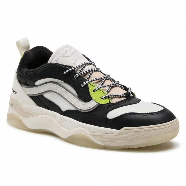 Sneakersy VANS - Brux Wc VN0A4BH41CS1 Black/Lime Punch/Marshmlw