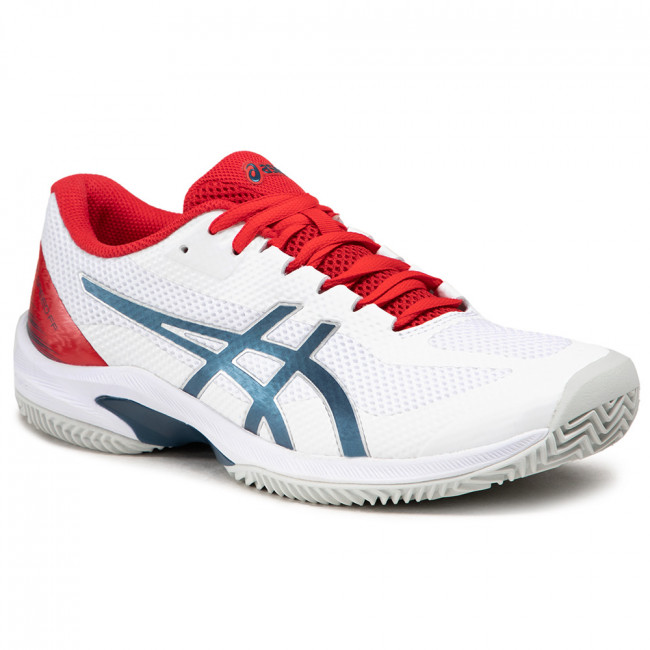 Boty ASICS - Court Speed Ff Clay 1041A093  White/Mako Blue 105