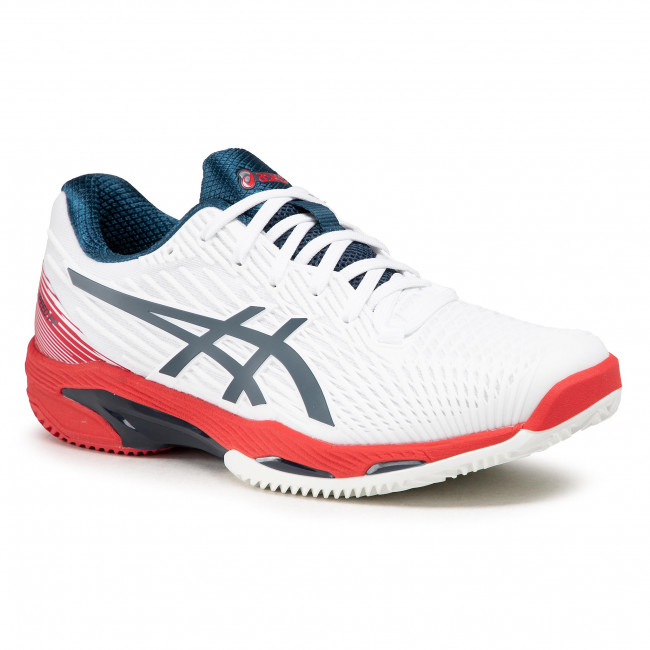Boty ASICS - Solution Speed Ff 2 Clay 1041A187 White/Mako Blue 101