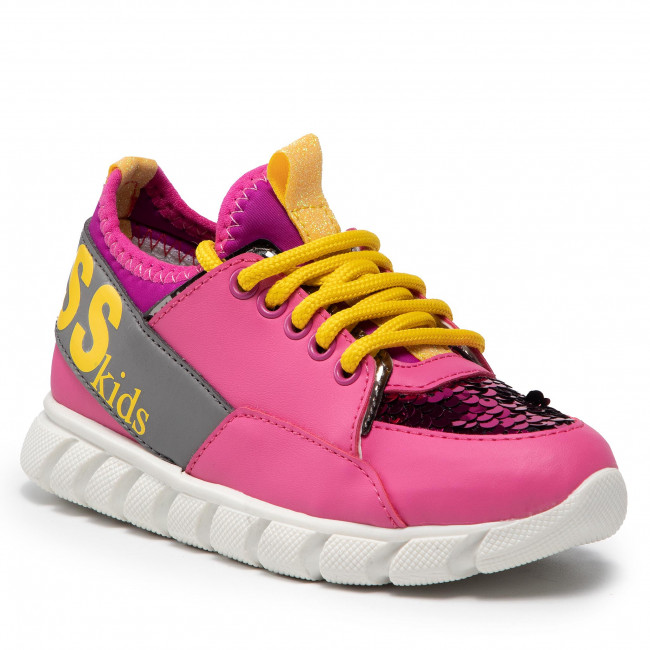 Sneakersy GUESS - FISCA8 ELE12 FUXIA
